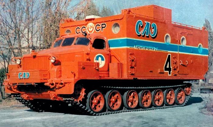 Уникальные советские вездеходы