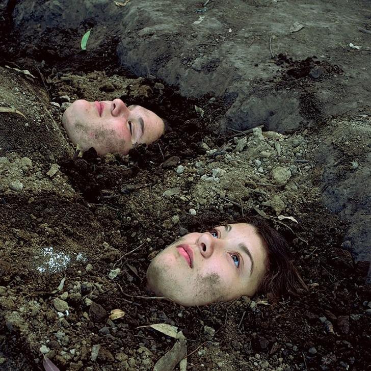 Приключения Гилье и Белинды в фотопроекте Алессандры Сангуинетти