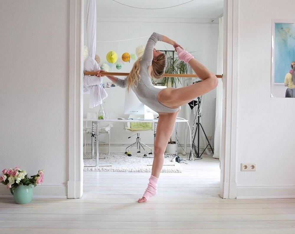 Гибкие танцовщицы на снимках Карстена Туна