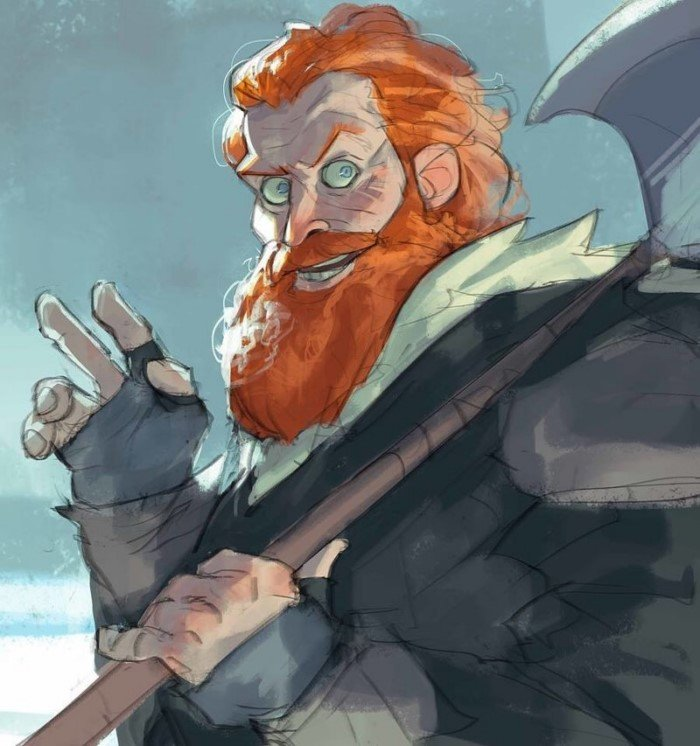 Герои Игры престолов от иллюстратора Рамона Нунеза