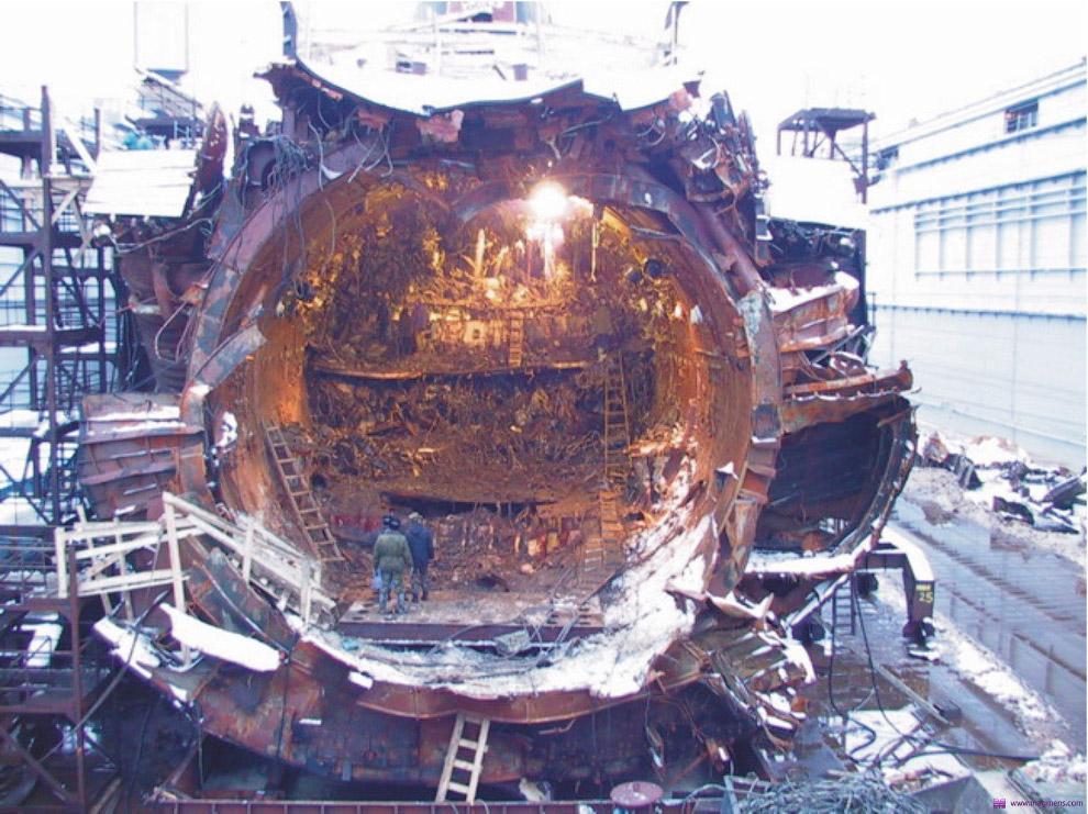 Самые крупные катастрофы подводных лодок