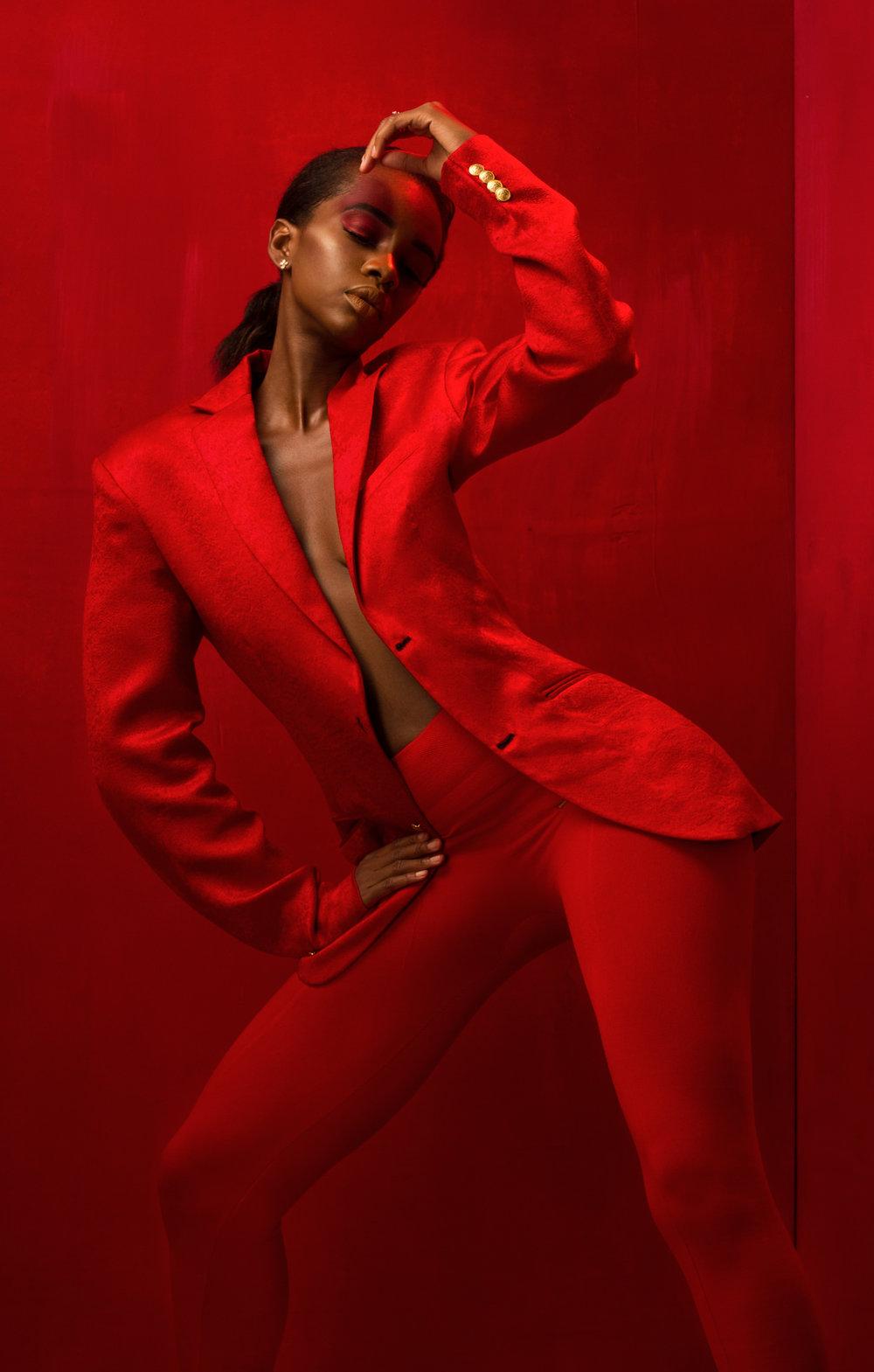 Чернокожие модели от фотографа Артура Кифа