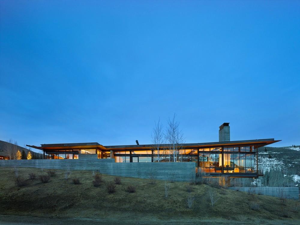 Резиденция в горах Айдахо