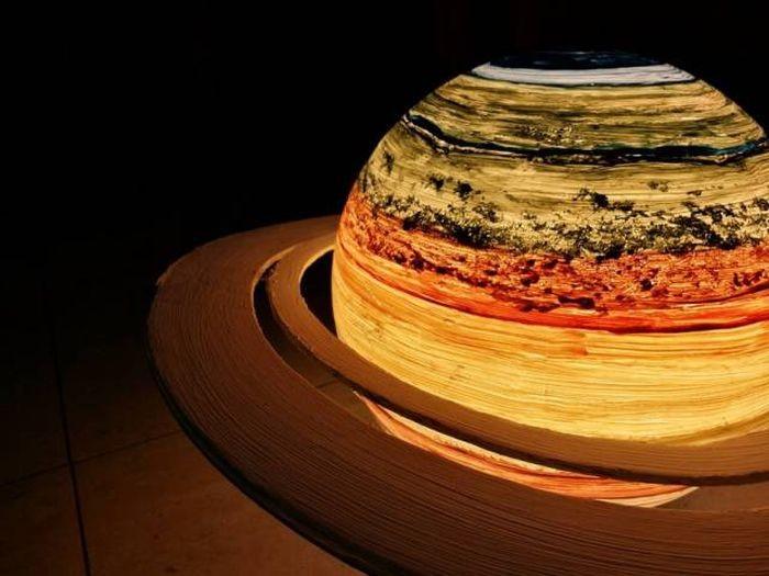 Светильники в форме планет