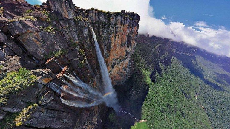 10 самых высоких водопадов мира