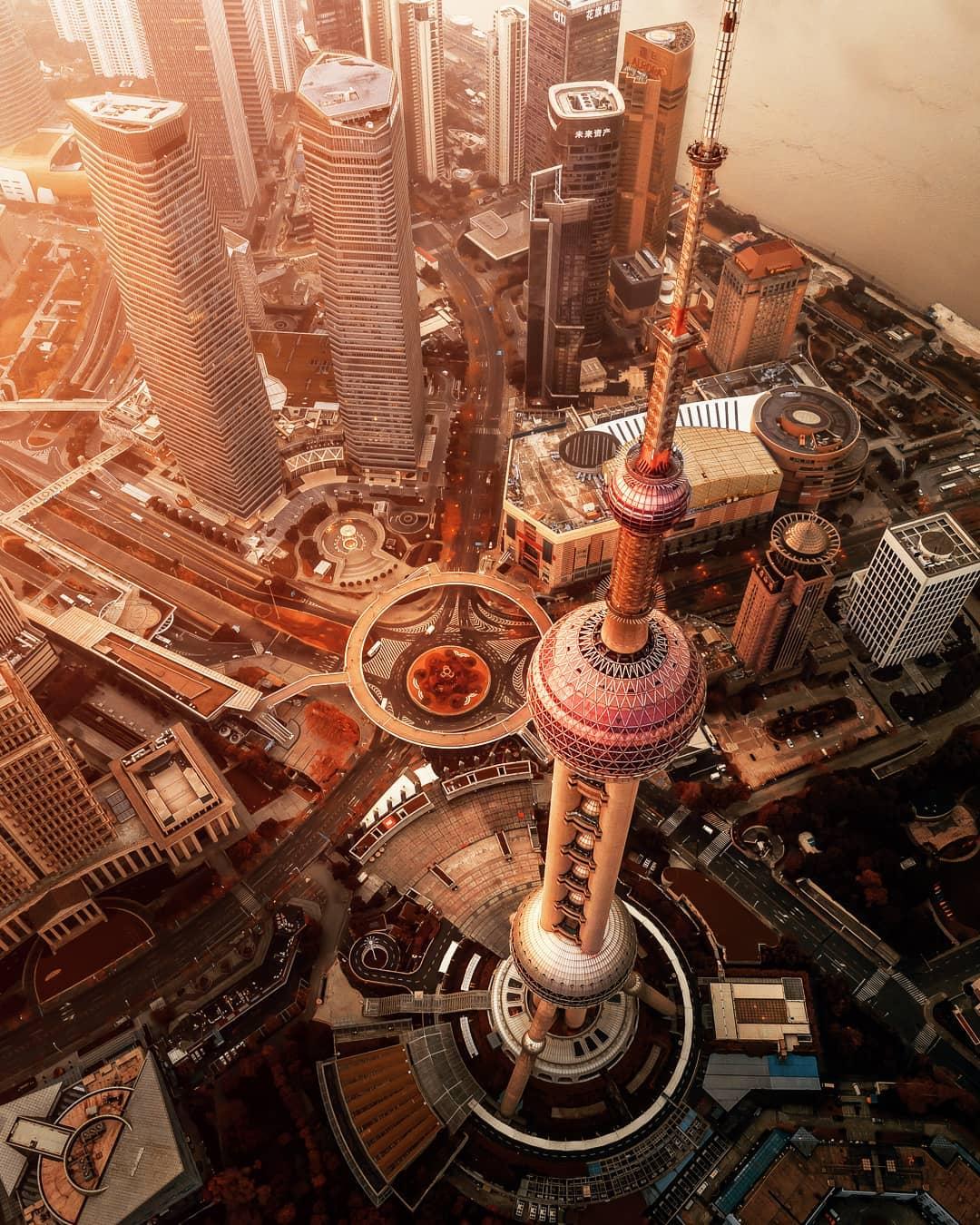 Красота Шанхая в фотографиях Марка Зигемунда