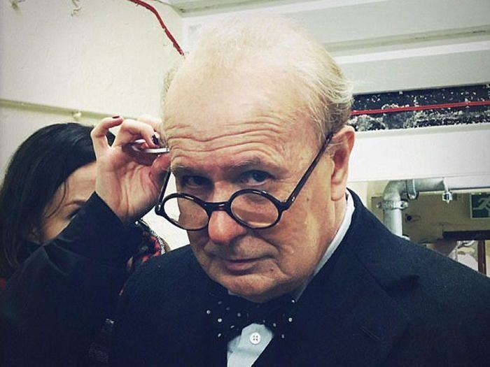 Перевоплощение Гэри Олдмена в Уинстона Черчилля