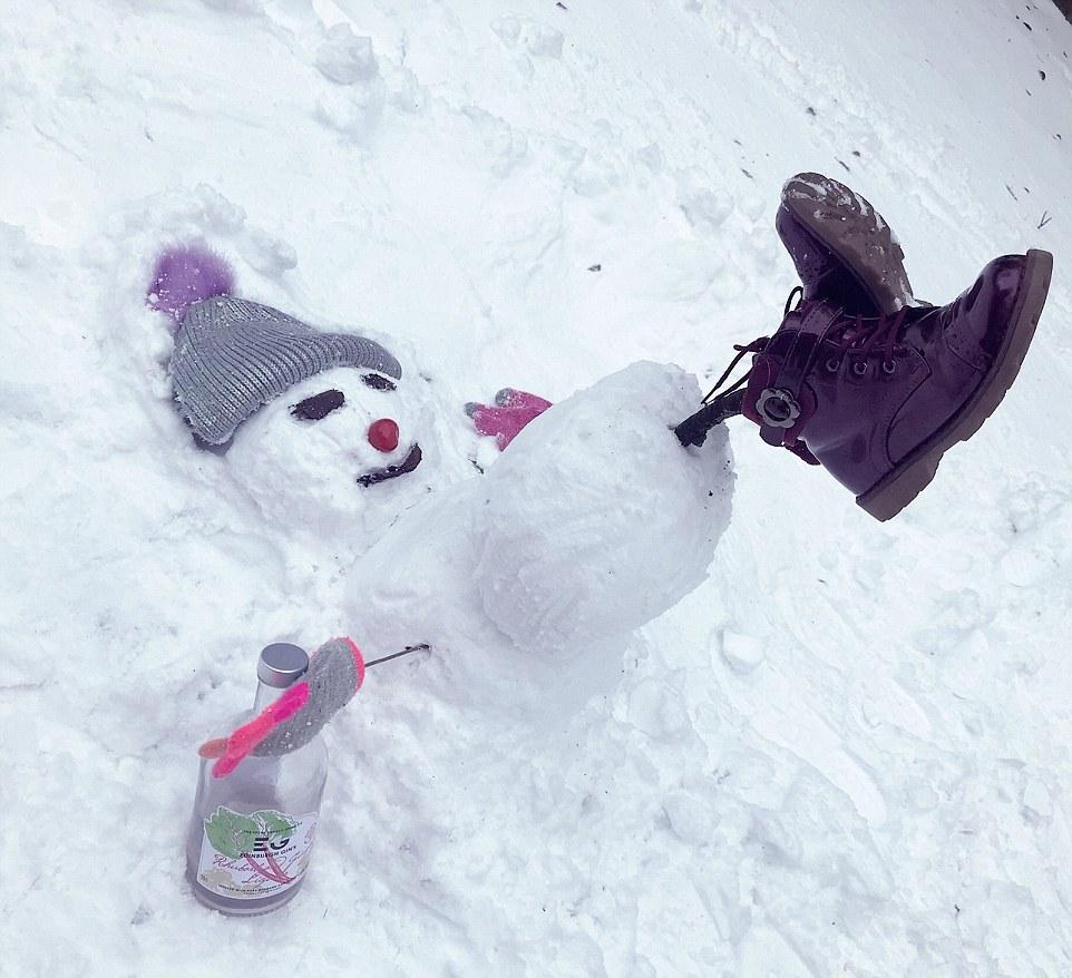 Зимние развлечения британцев