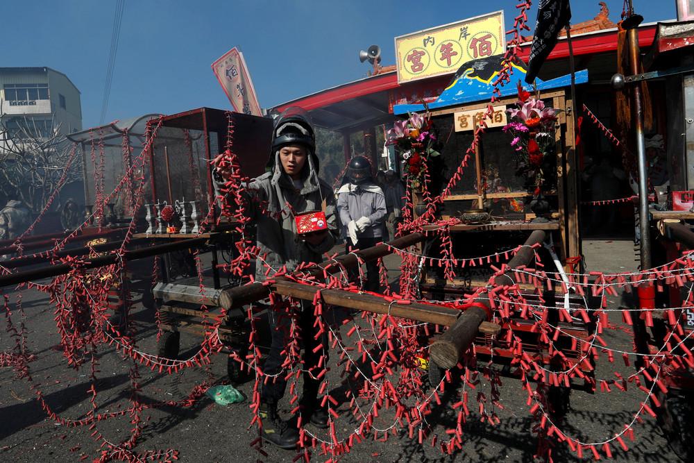 Тайваньский фестиваль петард