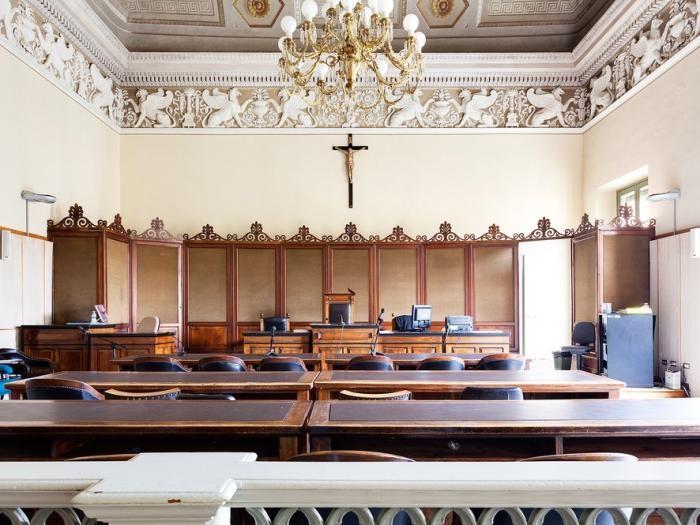 Залы суда после очередного заседания
