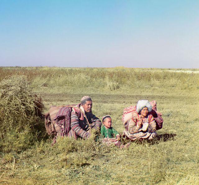 Цветные снимки Российской империи начала 20-го века