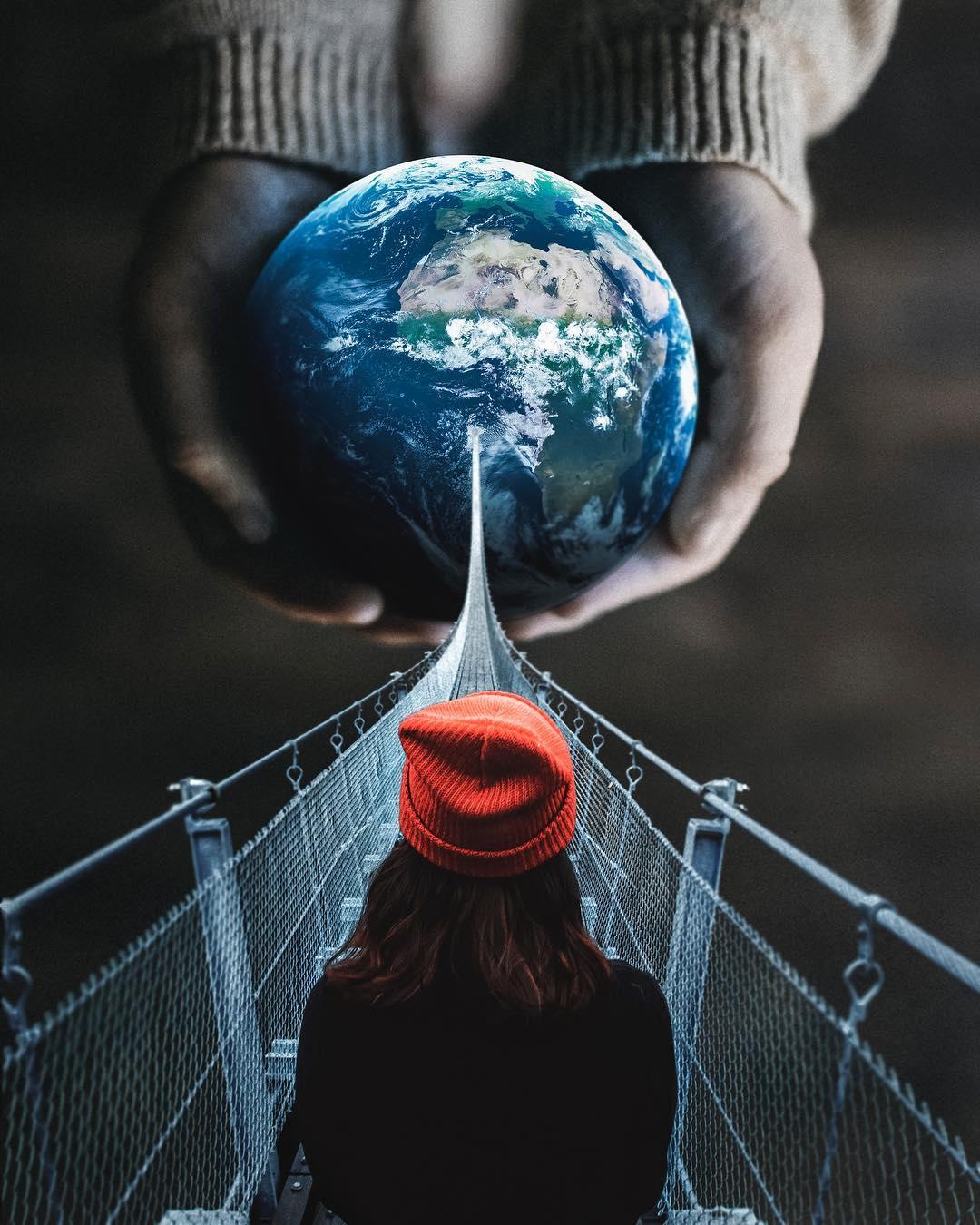Сюрреалистические фотоманипуляции от Джастина Питерса