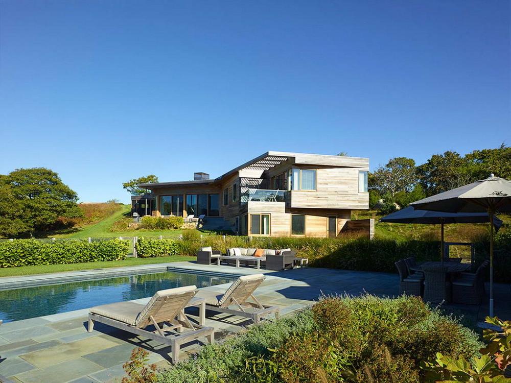 Частная резиденция у виноградника с видом на Атлантический океан