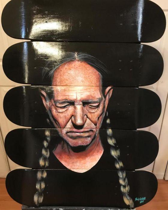 Мастерские портреты от художника Дэвида Гризла