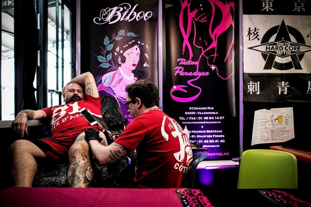 Международная тату-конвенция 2018 в Париже