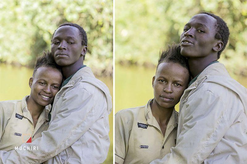Фотосессия для влюбленных бомжей в подарок от кенийского фотографа