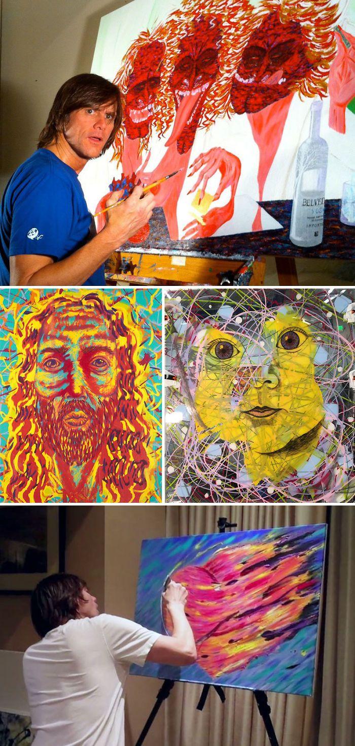 Знаменитости и их художественные таланты