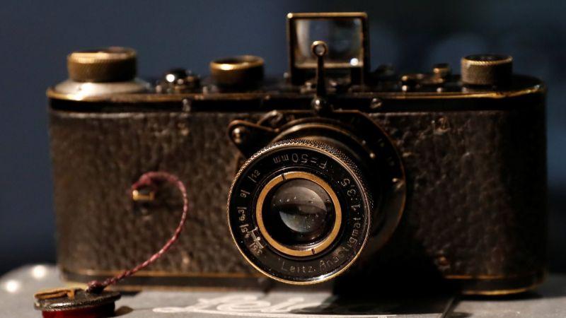 Редкая камера была продана на аукционе почти за 3 миллиона долларов