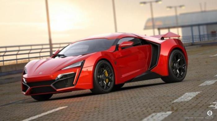 Роскошные арабские автомобили класса люкс