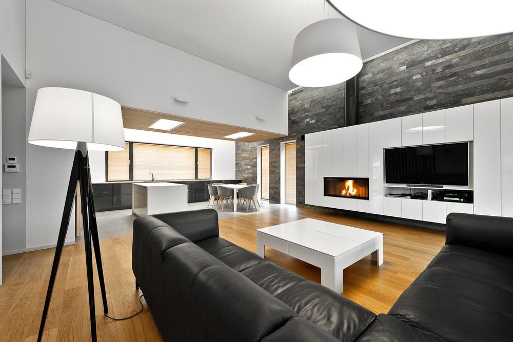 Стильный современный дом в Вильнюсе