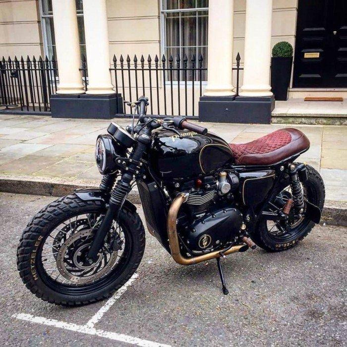 20 брутальных мотоциклов в стиле Cafe Racer
