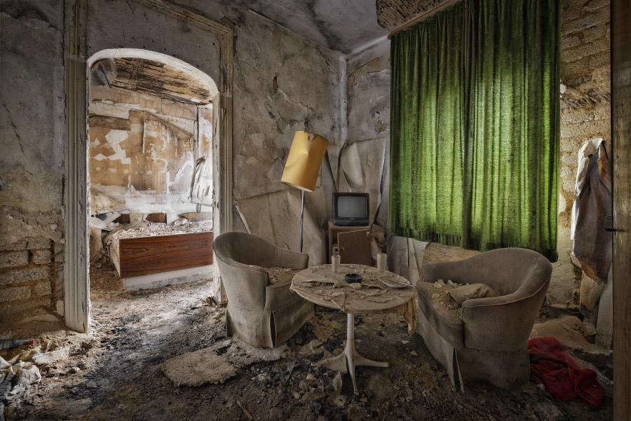 Покинутые места на снимках Питера Унтермайерхофера