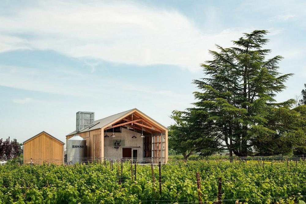 Гостевой дом на ранчо в Калифорнии