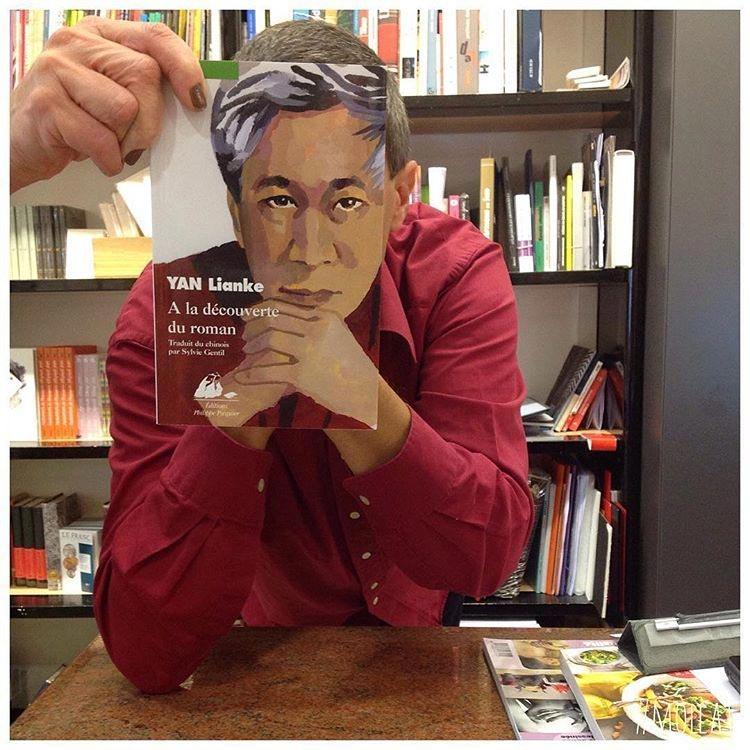 Книгалицо или оптические иллюзии с заменой лица обложкой книги