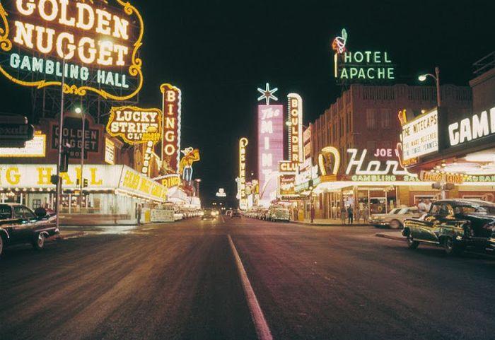 Лас-Вегас 1950-х годов