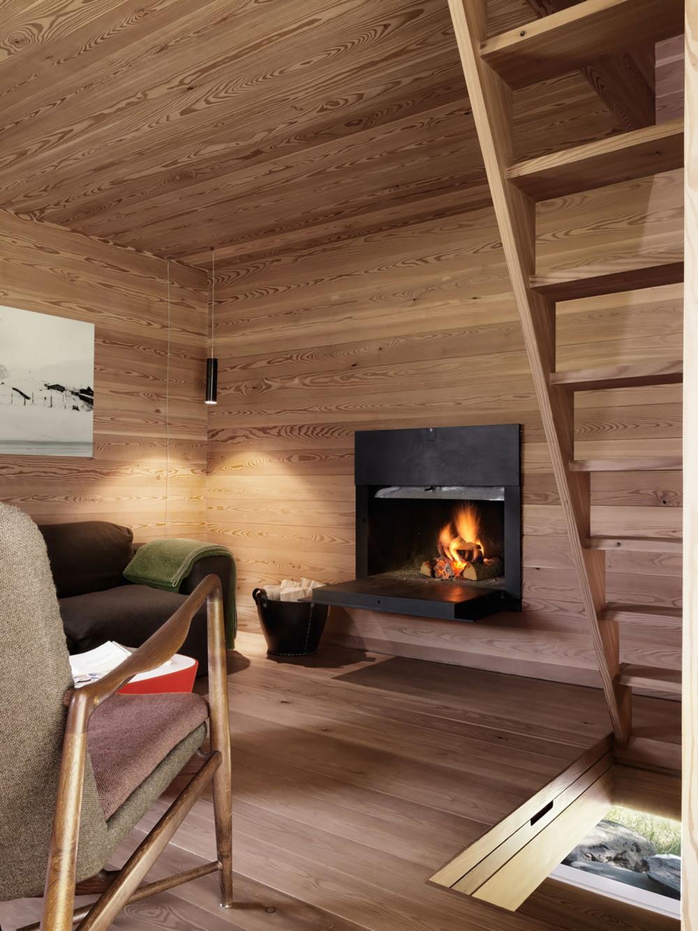 Уютная хижина в Швейцарских Альпах