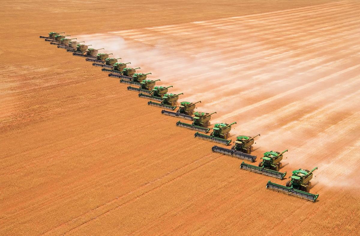 Большие фермерские хозяйства в Австралии