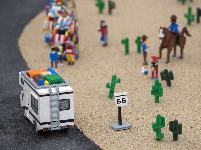 Из деталей Lego собрали достопримечательности со всего мира
