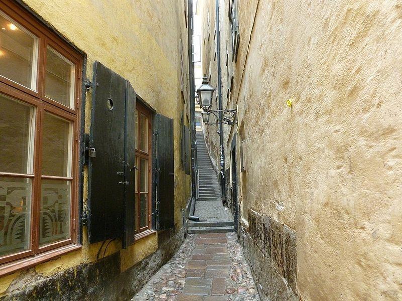 Самые узкие улицы мира