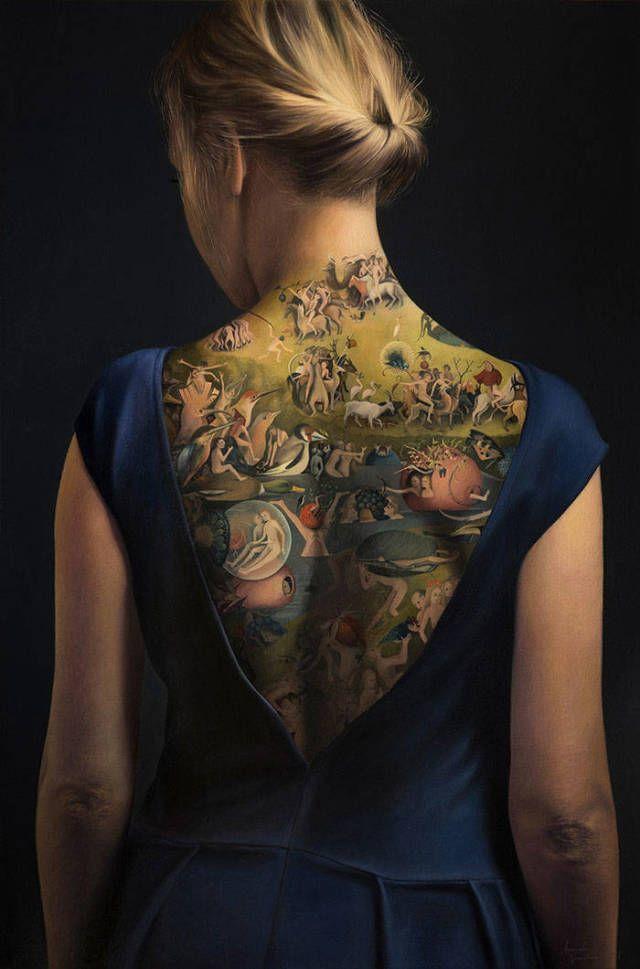 Это вовсе не татуировка