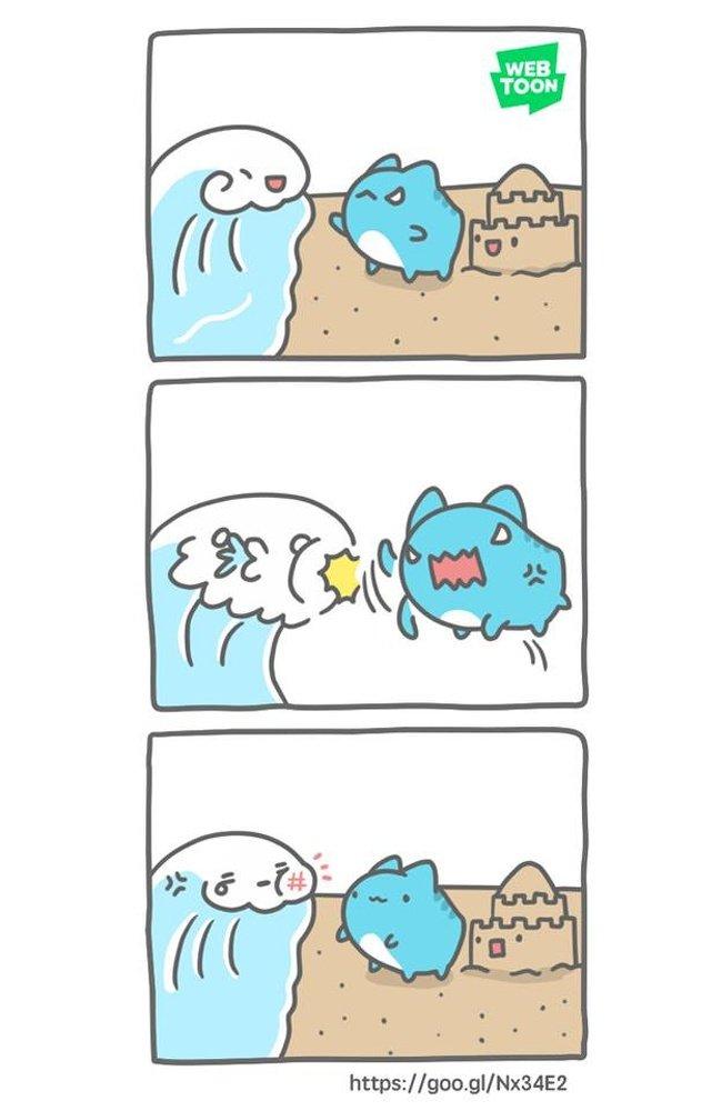 Милые комиксы с необычным юмором, от которых сходят с ума в Японии