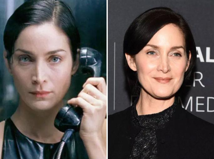 Актеры Матрицы тогда и сейчас