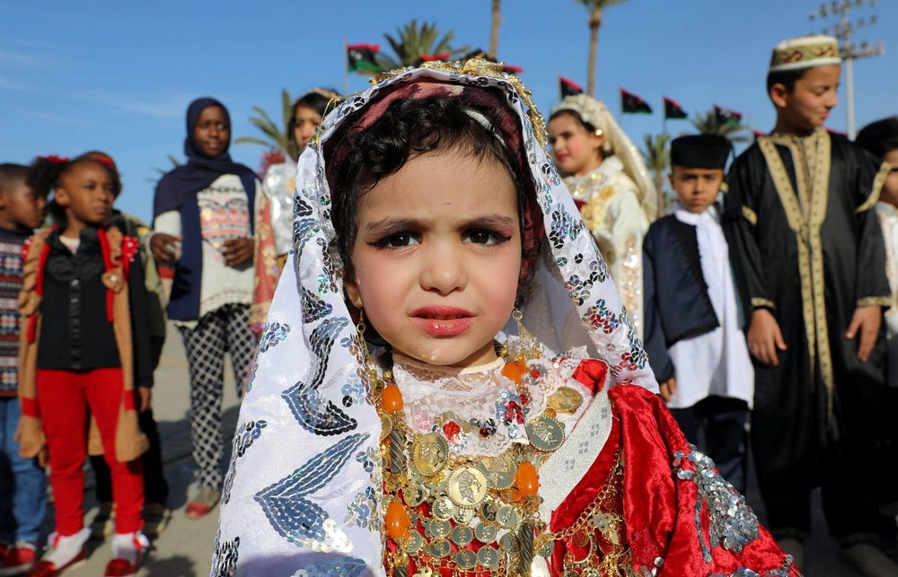 Фестиваль национального костюма в Ливии