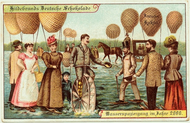 Как представляли себе наше время люди 100 лет назад