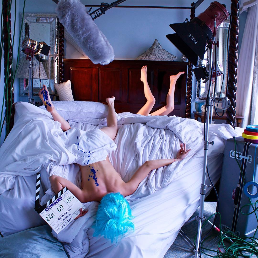 Фотопроект Сандро Джордано об упавших людях