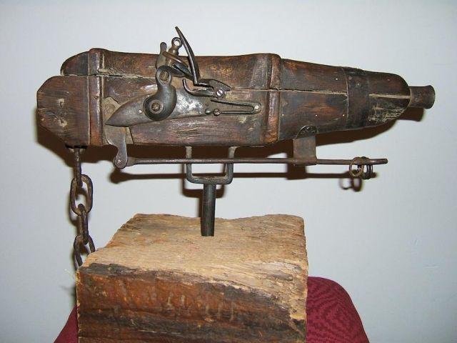 Огнестрельные средства защиты могил