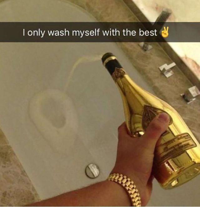 Проблемы золотой молодежи на фото в Instagram