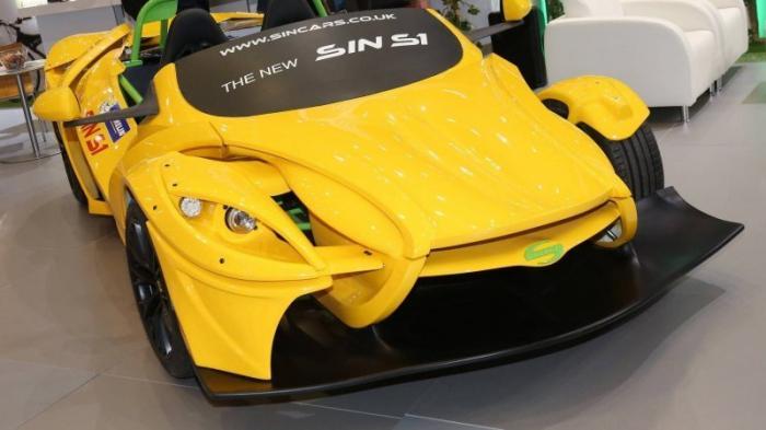 Sin S1 - модульный конструктор на колесах