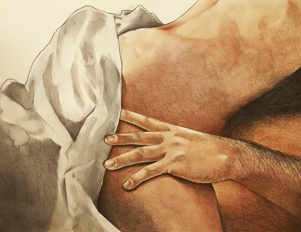 Интимные иллюстрации от Фриды Кастелли
