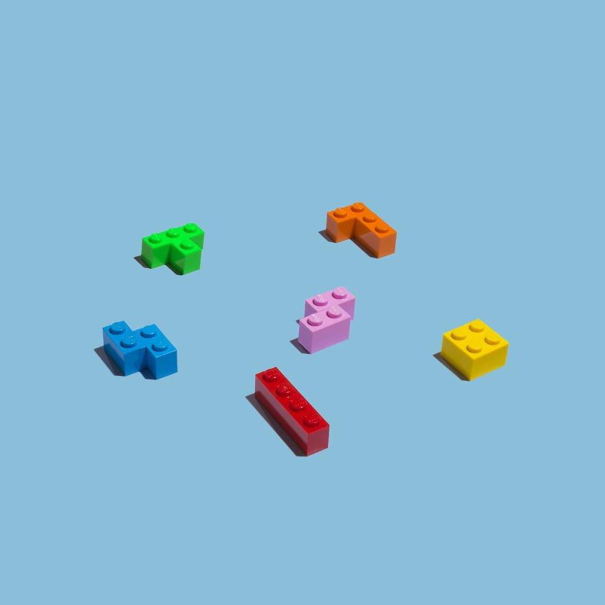 Повседневные предметы с LEGO