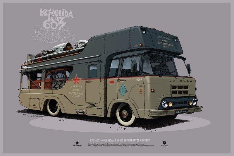Кастомные советские автомобили от Андрея Ткаченко