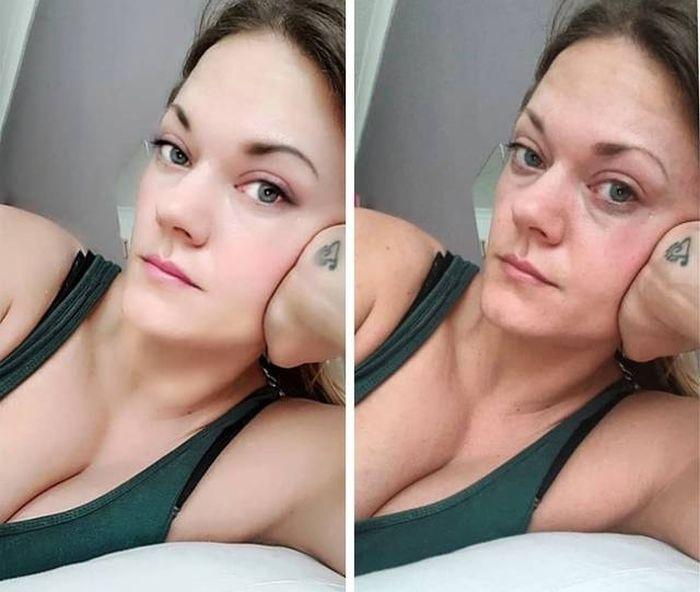 Девушки на фото в Instagram и в реальной жизни