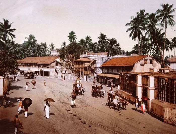 Известные города 100 и более лет назад