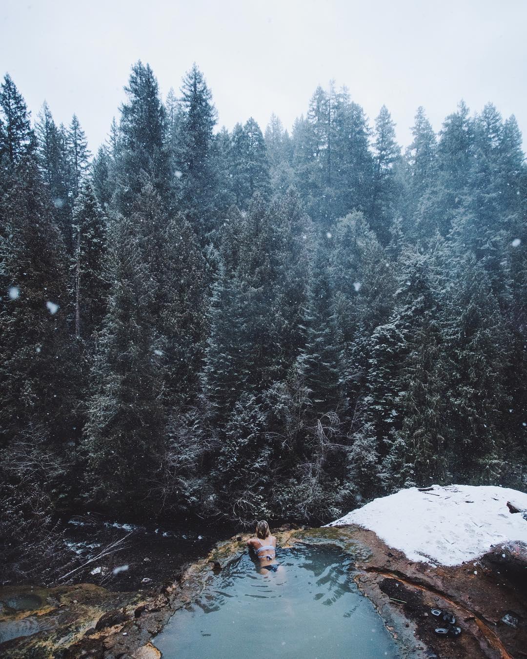 Путешествия и природа сна снимках Кэмерона Андерсона