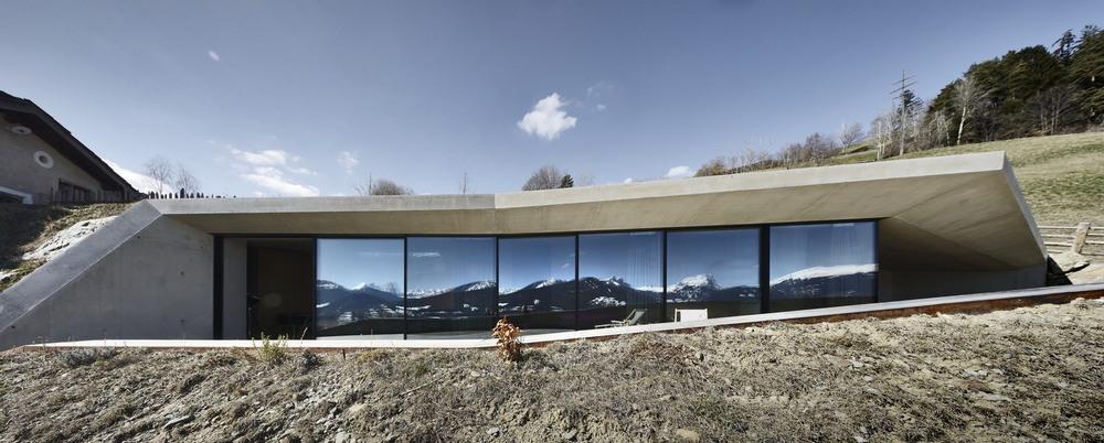Расширение жилого дома на хуторе в Италии