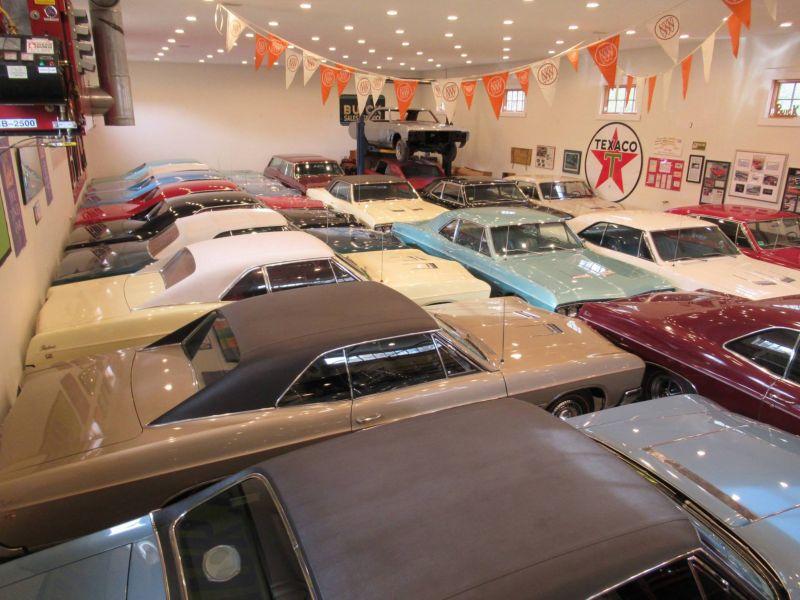 Автолюбитель коллекционирует исключительно Buick Skylark 1966 года выпуска